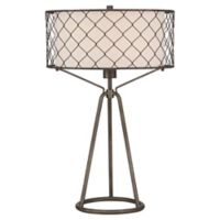 Quoizel Homestead 1-Light Table Lamp in Black