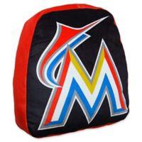 MLB Miami Marlins Logo Cloud Pillow