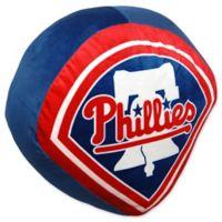 MLB Philadelphia Phillies Logo Cloud Pillow