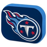 NFL Tennessee Titans 15-Inch Travel Cloud Pillow