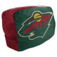 NHL Minnesota Wild Travel Cloud Pillow
