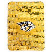 NHL Nashville Predators Classic Fleece Throw