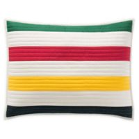 Pendleton® Glacier Stripe Standard Pillow Sham in White