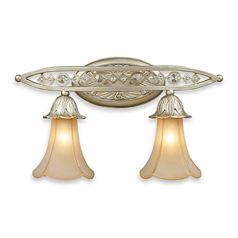ELK Lighting Trump Home™ Chelsea 2-Light vanity with Embedded Crystal