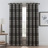 Buy Plaid Curtains Panel From Bed Bath Amp Beyond