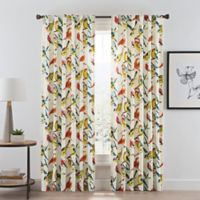 Birdwatcher Rod Pocket/Back Tab Window Curtain Panel