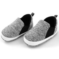Rising Star™ Size 3-6M Slip-On Sneakers in Heather Grey