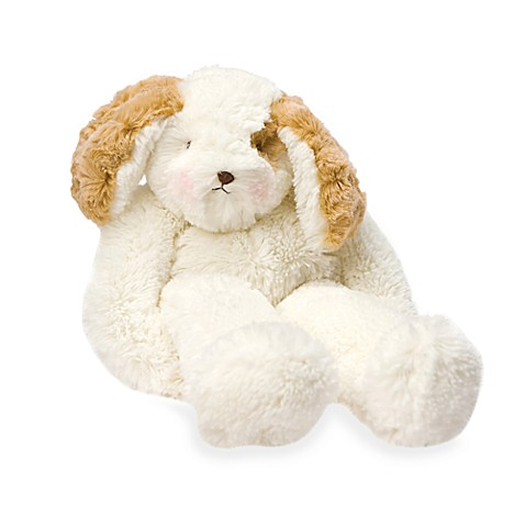 Bunnies by the Bay Plush Animals in Floppy Skipit White Doggie