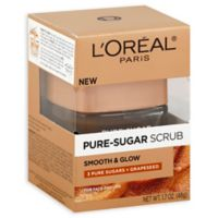 L'Oreal® Paris 1.7 oz. Smooth & Glow Pure-Sugar Facial Scrub
