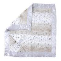 Zalamoon Plush Security Blanket in Snow Leopard