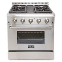 Kucht Professional 30-Inch Dual-Fuel Range in Stainless Steel