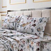 Tribeca Living Amalfi 300-Thread-Count Deep Pocket King Sheet Set in Rose