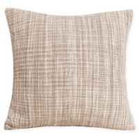 Carol & Frank Thatcher Square Throw Pillow in Dune