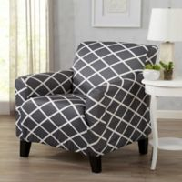 Great Bay Home Tori Armchair Slipcover in Grey