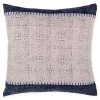 Fab Habitat Jaipur Throw Pillow in Blue