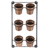 Zuo® Wall of Planters in Gold (Set of 6)