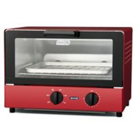 DASH™ Compact Toaster Oven in Red