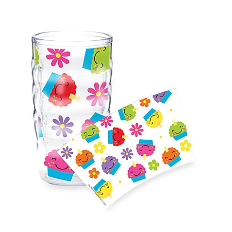 Tervis® 10-Ounce Wavy Wrap Tumbler in Cupcakes