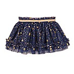 Baby Starters® Newborn Gold Stars Tutu Skirt in Navy