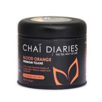 Chai Diaries 90-Count Blood Orange Tea Way of Life Tisane Tea Bags