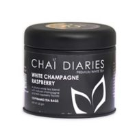 Chai Diaries 90-Count White Champange Raspberry Tea Bags