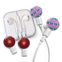 dekaSlides Stars & Strips and Mandala Slides with In-Ear Headphones in Red/Black