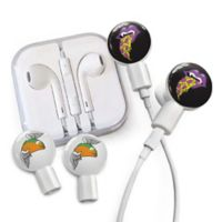 dekaSlides Pizza Mouth and Winged Taco Slides with In-Ear Headphones in White