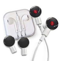 dekaSlides Vinyl and Carbon Fiber Slides with In-Ear Headphones in Black