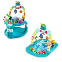 Baby Einstein™ 2‑in‑1 Lights & Sea Activity Gym & Saucer