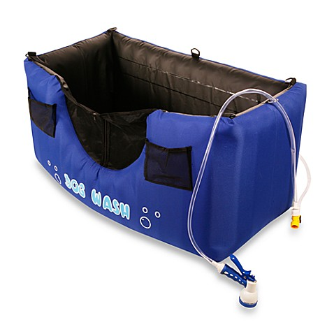 Maze Pet™ Dog Wash Inflatable Dog Washing Station