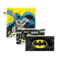 Bumkins® DC Comics™ Batman 3-Piece Reusable Snack Bags Set