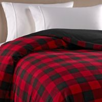 The Seasons Collection® HomeGrown™ Buffalo Checkered Flannel King Duvet Cover in Red