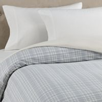The Seasons Collection® HomeGrown™ Plaid Flannel Twin Duvet Cover in Neutral