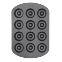Wilton® Nonstick 12-Cavity Mini Doughnut Pan