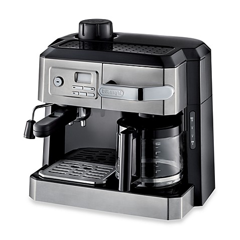 de 39 longhi bco330t combination steam espresso drip coffee cappuccino and l. Black Bedroom Furniture Sets. Home Design Ideas