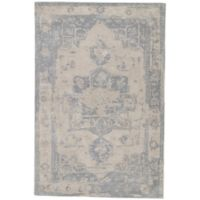 Jaipur Living Wallace 2' x 3' Handcrafted Area Rug in Beige/Blue