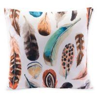 Zuo® Modern Plumas Multicolor Square Throw Pillows (Set of 2)