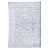 Jaipur Living Floral 2' x 3' Handcrafted Area Rug in Blue/White