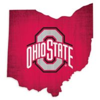 Ohio State University Team Color Logo State Sign