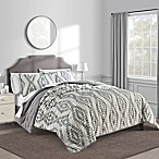 Paola Full/Queen Quilt in Black/White