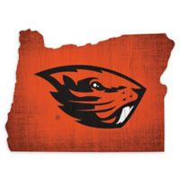 Oregon State University Team Color Logo State Sign