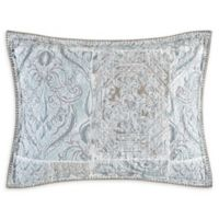 Freesia King Pillow Sham in Blue