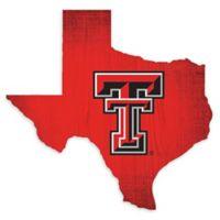 Texas Tech University Team Color Logo State Sign