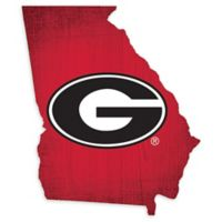 University of Georgia Team Color Logo State Sign