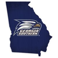 Georgia Southern University Team Color Logo State Sign