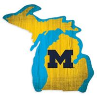 University of Michigan Team Color Logo State Sign