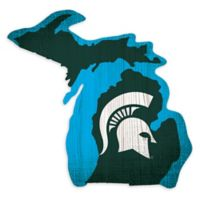 Michigan State University Team Color Logo State Sign