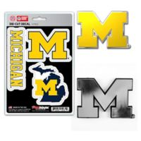 University of Michigan Car Emblem Kit