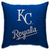 MLB Kansas City Royals Logo Throw Pillow