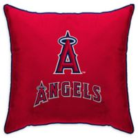 MLB Los Angeles Angels Logo Throw Pillow